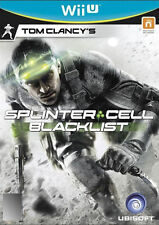 Tom Clancy's Splinter Cell: Blacklist (Nintendo Wii U, 2013) PAL