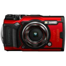 Olympus Tough Tg-6 12Mp Waterproof W-Fi Digital Camera (Red)