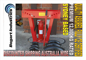 12 TON HYDRAULIC PIPE BENDER BENDING MACHINE 6 PCS, DEEP DIES, QUALITY UNIT