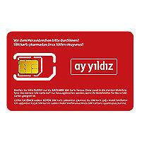 E-Plus Aystar Yildiz Prepaid SIM Karte - 7 Guthaben