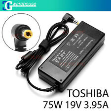 19V 3.95A 75W Charger AC Adapter for Toshiba Satellite C650 C660 C850 L750 L750D