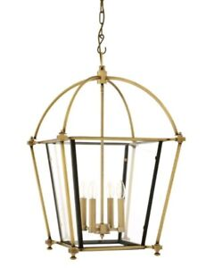 Eichholtz Quant Hanging Lantern Light Chandelier
