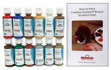 Duncan Metallic & Glitter Acrylic Paint Colors Set Sgumkit-2, 12 colors - 2 oz