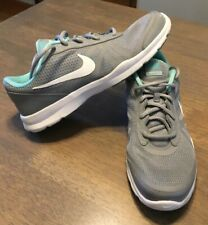 NIKE Running Shoes Core Motion TR2 749180-014 Grey White Green Womens 10