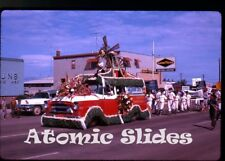 1963 Kodachrome photo slide Parade Saskatchewan Canada #1  CJNB