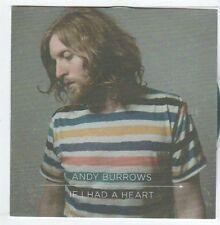 (EM894) Andy Burrows, If I Had A Heart - 2013 DJ CD
