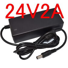 24V 2A AC/DC Adapter For Logitech Racing Wheel G27 G25 G940 APD DA-42H24 ADP-18L