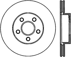 Disc Brake Rotor-Sport Drilled/Slotted Disc Front Right Stoptech 127.62034R