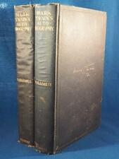 Mark Twain's Autobiography 2 Volumes Intro Harper & Brothers 1924 drt