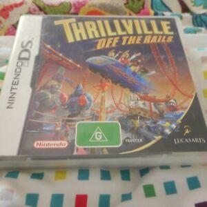 THRILLVILLE OFF THE RAILS NINTENDO DS