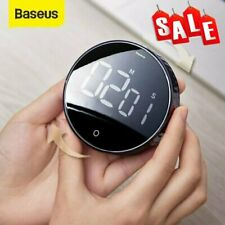 Baseus Magnetic LCD Digital Timer Countdown Kitchen Egg Cooking Oven Alarm Clock
