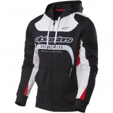 Session zip up hoody black 2x-large - Alpinestars 103553003-10-2X