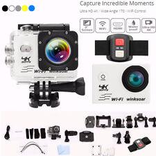 SJ9000 4K Ultra HD 1080P Wifi Sport DV Action Camera Mini Cam Camcorder + Remote