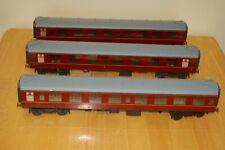 More details for 3 vintage lima o gauge converted coaches                         m1