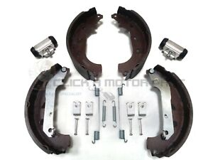 FORD TRANSIT CONNECT REAR BRAKE SHOES SET & 2 WHEEL CYLINDERS & SHOE FITTING KIT