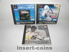 3x Rainbow Six : Lone Wolf, Rogue Spear -   Playstation 1 / PS1 / PSX / Pal / 55