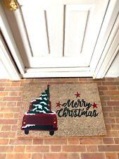 "Dollhouse Miniature ""Merry Christmas� Doormat - 1:12 scale"