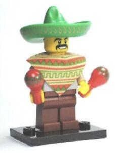 LEGO 8684 New Mariachi / Maraca Man Collectible Minifigure Series 2