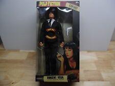 "13"" Pulp Fiction Vincent Vega Action Figure Explicit Talking 1/6 John Travolta"