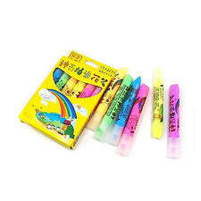 6 pcs Multi Colorful Popcorn Pen Puffy DIY Art Paint
