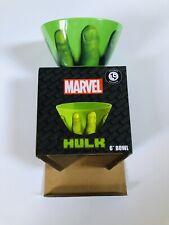 "Marvel Comics Incredible Hulk 6"" Plastic Cereal Bowl New Loot Crate Exclusive"