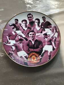 manchester united danbury mint plate - Busby Babes