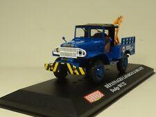 IXO 1:43 Dodge WC52 dépannages Lafargue bolline Diecast car model