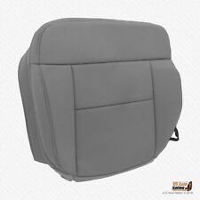 2004-2005 Ford F-150 XLT -Driver Side Bottom Replacement Cloth Seat Cover Gray