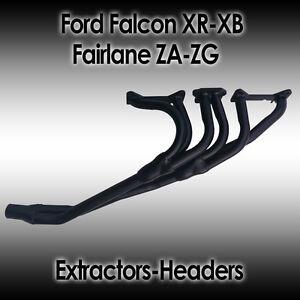 Ford Falcon XR-XB Fairlane ZA-ZG 6 cyl Pre Cross Flow Extractors/Headers