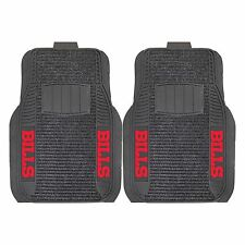 Buffalo Bills 2-Piece Deluxe Auto Floor Mats - Car, Truck, SUV