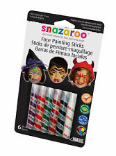 Halloween Face Paint Sticks Childrens Adults Make Up Fancy Dress Accessory
