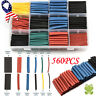 560X Heat Shrink Tubing Electrical Wire Cable Wrap Assortment Tube 12 Size USA