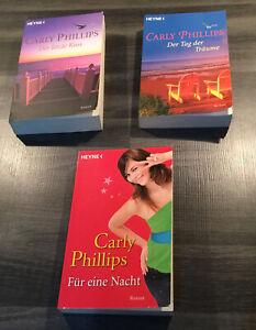 """3 Bücher von Carly Phillips, komplette Buchreihe """"Chandler Serie"""""""