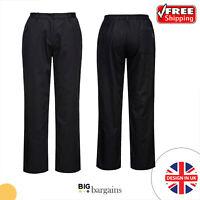 Portwest Rachel Ladies Cooks Chefs Trousers Kitchen Catering Uniform Pants C071