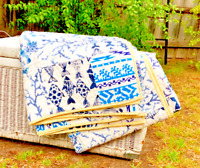 Cotton Floral Design Quilt Doona Duvet Covers Set Single Queen King Size Bed New