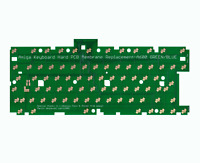 New Hard Premium Keyboard Membrane PCB for Amiga 600 Green Blue Replacement #745