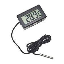 LCD Digital Thermometer Anzeige -50 bis 110 °C Temperatur mit 1 m Kabel
