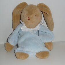 Doudou Lapin Trousselier - Marron Bleu