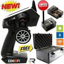 Spektrum DX6R 6ch DSMR Radio System W/ Wifi + BlueTooth + Aluminum Case SPM6410