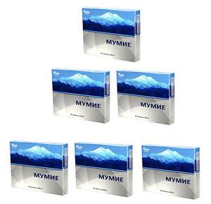 Mumijo 360 Tabletten 200mg Nahrungsergänzungsmittel Altai Mumio Mumie Shilajit
