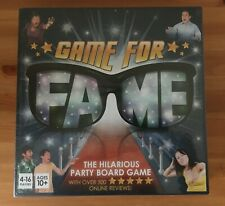 Game for Fame Board Game New / Sealed