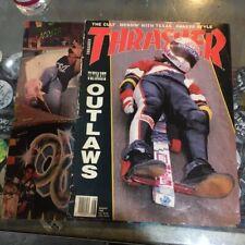 Thrasher Skateboard Magazine August 1990 Joe Piassecki Bob Pereyra 8/90 Aug ASIS