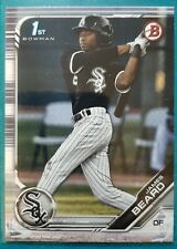 2019 BOWMAN DRAFT JAMES BEARD #58 CHICAGO WHITE SOX