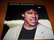 """GEORGE THOROGOOD & THE DESTROYERS  """"BAD TO THE BONE""""        LP  1982"""