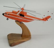 Mi-26 China Flying Dragon Mil Helicopter Desk Wood Model New Small