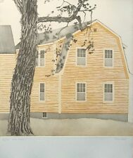 Tessa Beaver - Signed Etching - 62x51cm, limited edition wall art, Silver Maple