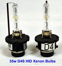 D4S 8000K 35W Factory Fitted Xenon HID OEM Replacement Bulbs Bulb Blue Light