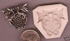Celtic Knot Doulbe Dragon Shield Polymer Clay Push Mold