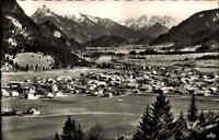 Pfronten-Steinach Bayern 1965 Allgäu Schwaben Berge Säuling Zugspitze Alpen Dorf