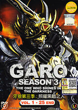 GARO Season 3 : The One Who Shines In The Darkness (Eps. 1 - 25 end) ( Eng Sub)